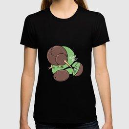 Kiwi Bird New Zealand funny saying T-shirt