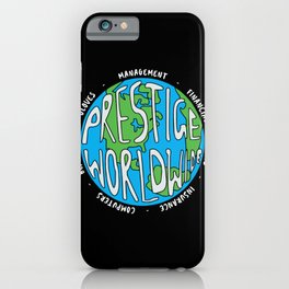 Prestige Worldwide Enterprise, The First Word In Entertainment, Step Brothers Original Design for Wa iPhone Case