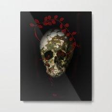 skull#01 Metal Print