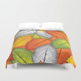 Autumn leaves #1 Duvet Cover