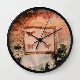 Muddled Daiseys Wall Clock