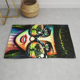 Color Bomb Rug