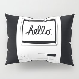 Hello World Back Pillow Sham