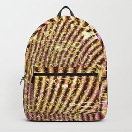 Warped glitter Backpack