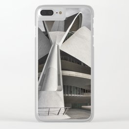 City of Arts and Sciences I | C A L A T R A V A | architect | Clear iPhone Case