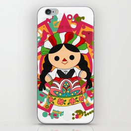 Maria 1 (Mexican Doll) iPhone Skin