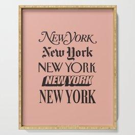 New York City Serving Tray