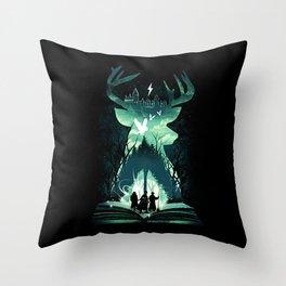 Magic friends Throw Pillow