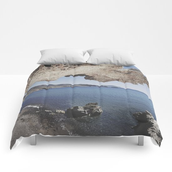 Arch beach Comforters