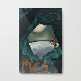 Space Spelunking Metal Print