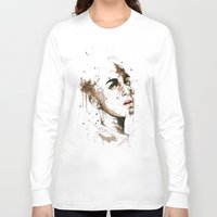jasmine Long Sleeve T-shirts featuring Jasmine by Maurice Zombie