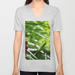 red currant Unisex V-Neck