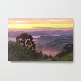 pink fog Metal Print