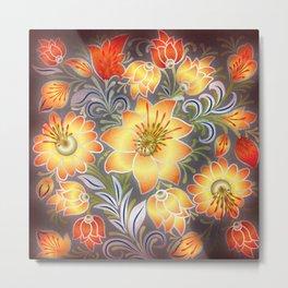 Shabby flowers #3 Metal Print
