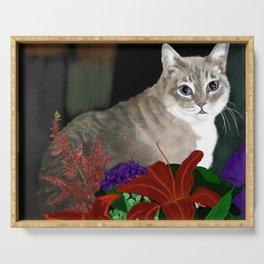 Beloved Kitty Serving Tray