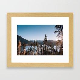 Kachemak Bay State Park Framed Art Print