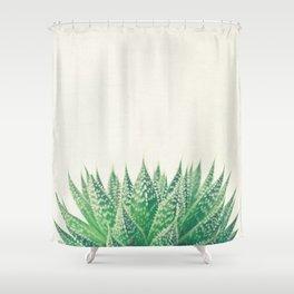 Lace Aloe Shower Curtain