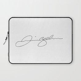 Signature of Art Laptop Sleeve