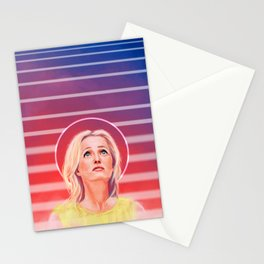 Gillian Anderson - 1968 - No characters Stationery Cards