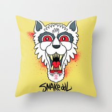 G H O S T  Throw Pillow