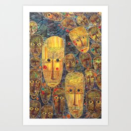 Upon Waking Art Print