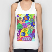 fantasy Tank Tops featuring Fantasy by Linda Tomei