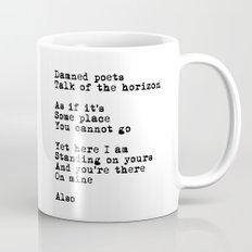 Damned poets Mug
