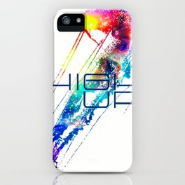 Jellyfish High Up iPhone Case