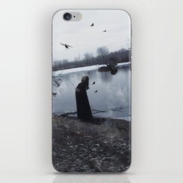 SWAMP RAVEN iPhone Skin