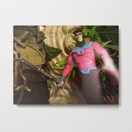 Gambit: In The Ruins Metal Print