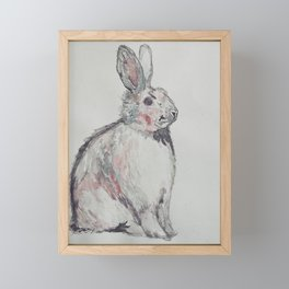 A Hare In Framed Mini Art Print