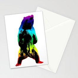 Rainbow Bear Stationery Cards