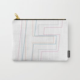 Intertwined Strength and Elegance of the Letter F Carry-All Pouch