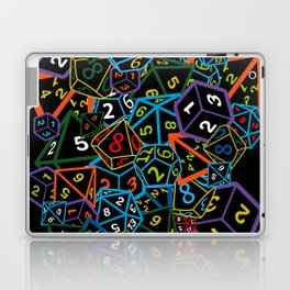 D&D (Dungeons and Dragons) - This is how I roll! Laptop & iPad Skin
