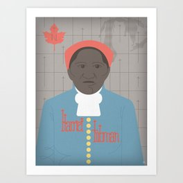Harriet Tubman Portrait Art Print