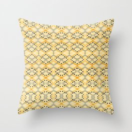 Currency IV Throw Pillow