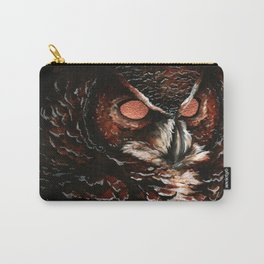 Owl, Barred Owl, Bird Carry-All Pouch