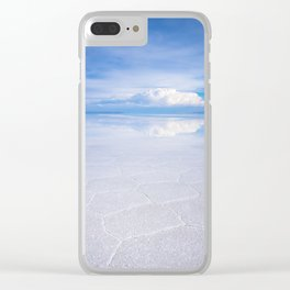 Salar de Uyuni desert, Bolivia Clear iPhone Case