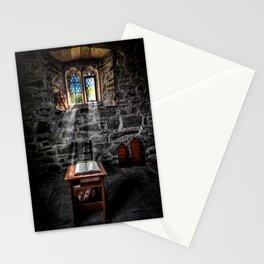 Chapel Light on Bible Stationery Cards
