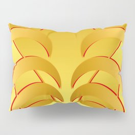 1107 Horned moon pattern Pillow Sham