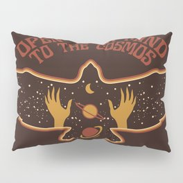 OPEN YOUR MIND TO THE COSMOS Pillow Sham