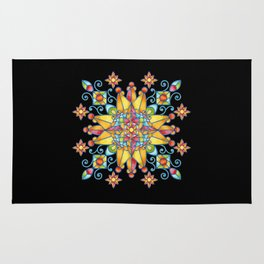Alhambra Stained Glass Rug