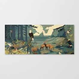 National Parks: Olympic Canvas Print
