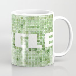 Recycle watercolor mosaic Coffee Mug