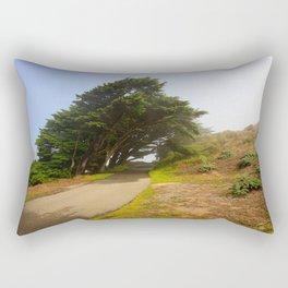 Wind Swept Trees Rectangular Pillow