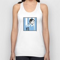 argentina Tank Tops featuring Messi Argentina by lockerroom51