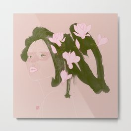 Magnolia (Mulan) Metal Print