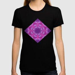 Pink Lace Kaleidoscope T-shirt