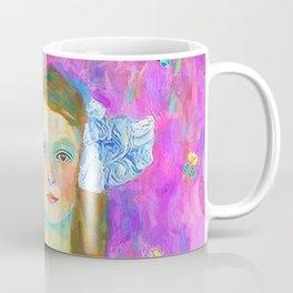 After Klimt - Portrait of Mada Coffee Mug