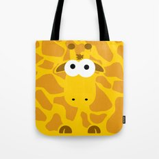 Minimal Giraffe Tote Bag